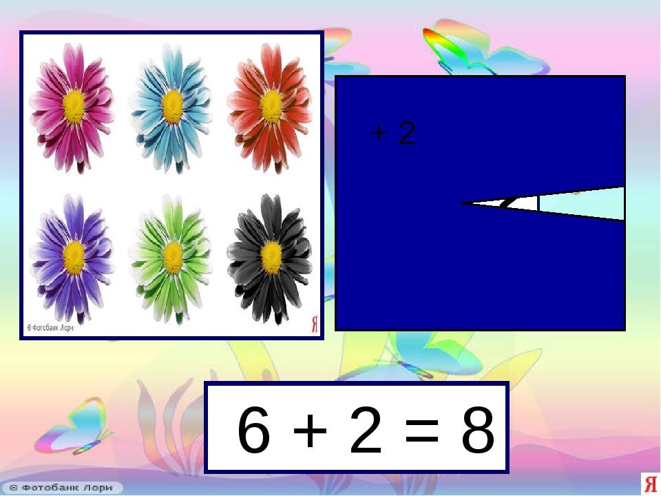 6 + 2 = 8 ? + 2