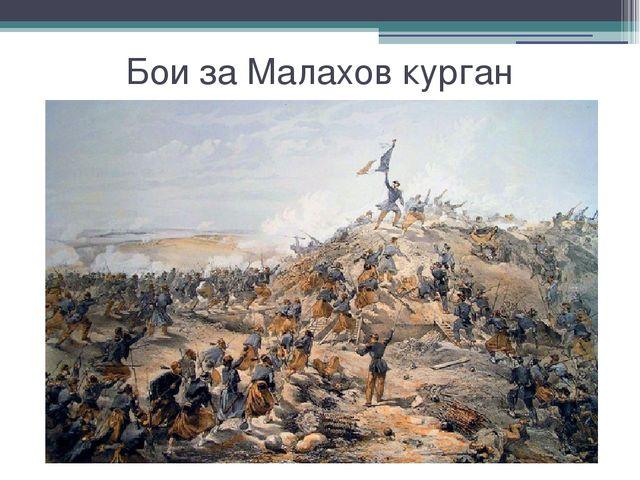 Бои за Малахов курган