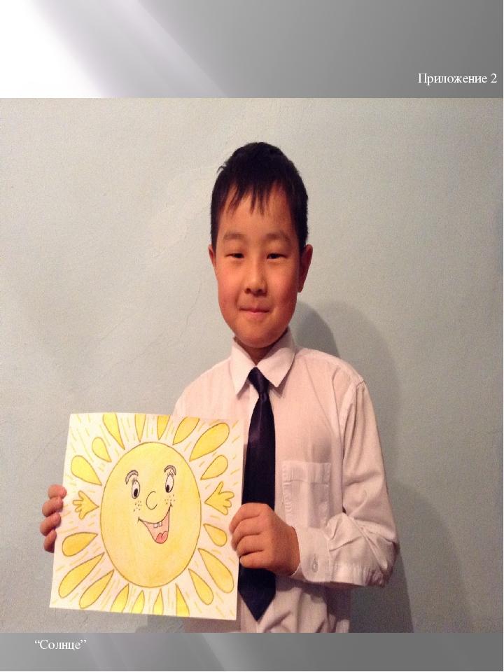 "Приложение 2 ""Солнце"""