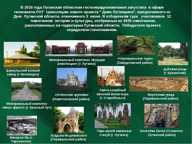 В 2010 года Луганская областная гостелерадиокомпаниязапустила в эфире телека...