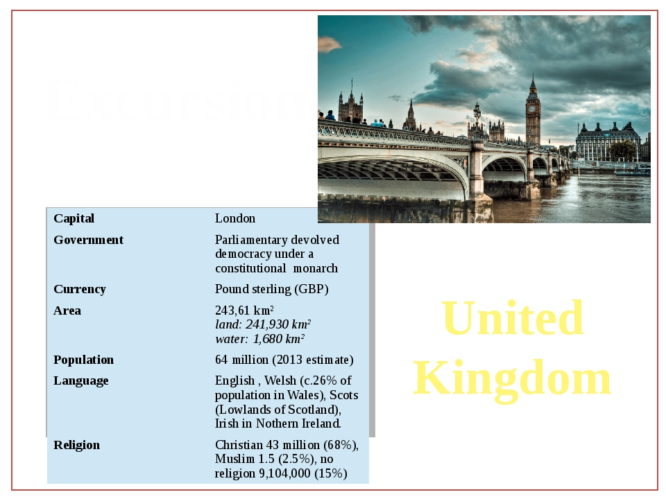 Excursion United Kingdom Capital London Government Parliamentary devolved dem...