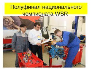 Полуфинал национального чемпионата WSR