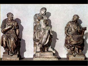 1521 – 1531. Микеланджело Буонарроти. Церковь Сан Лоренцо, Флоренция