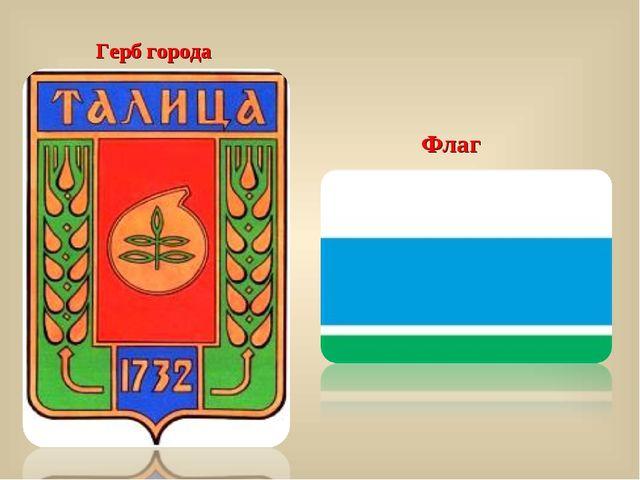 Герб города Флаг