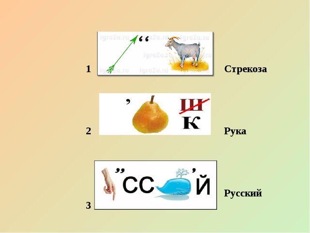 1 2 3 Стрекоза Рука Русский