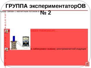 Верю – не верю № п/п Утверждение Да/нет 1 Явление электромагнитной индукции з