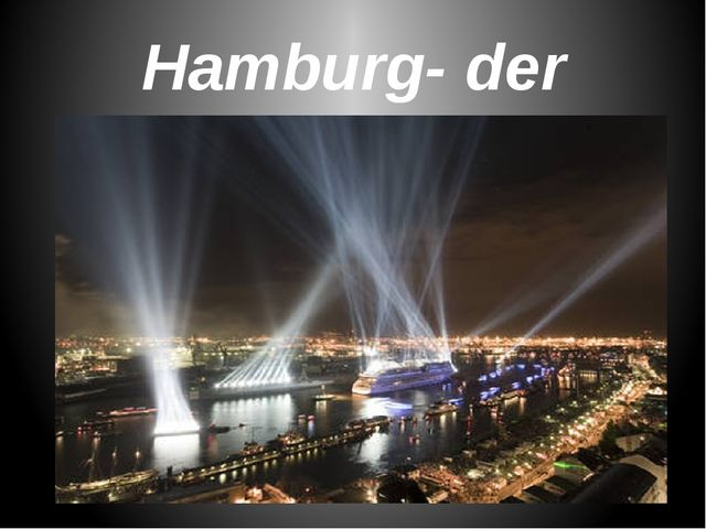 Hamburg- der Hafen
