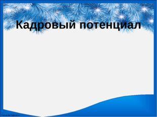 Кадровый потенциал FokinaLida.75@mail.ru
