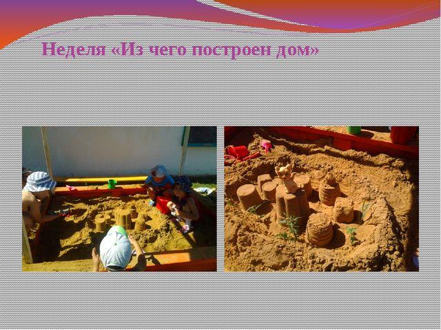 Неделя «Из чего построен дом»