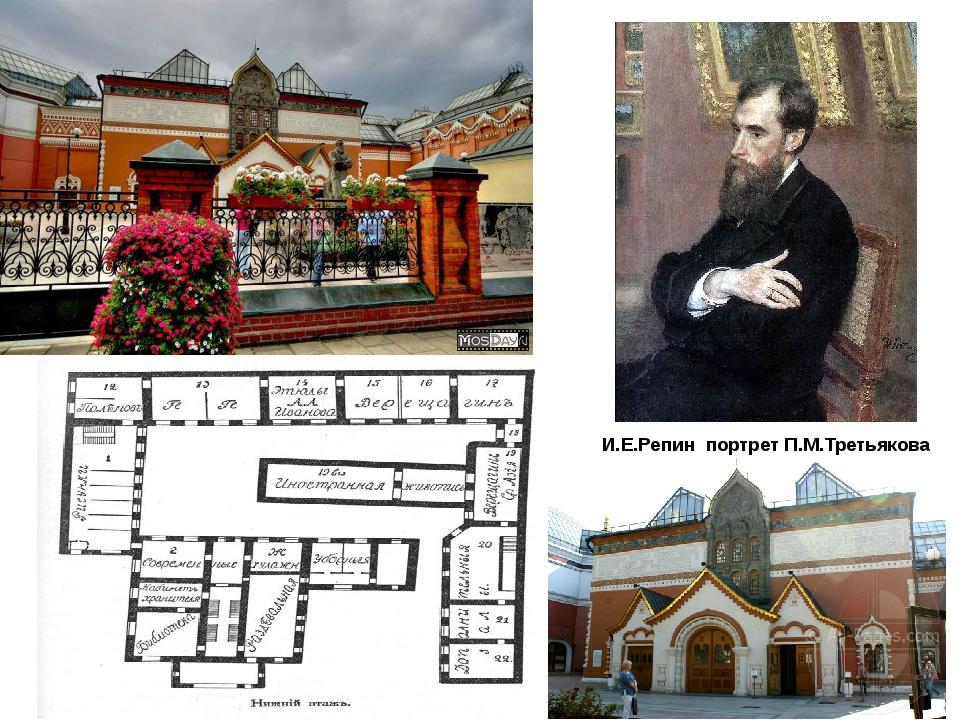 И.Е.Репин портрет П.М.Третьякова