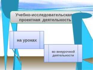 Внеурочные формы работы Проект может быть связан с изучением какой-либо темы