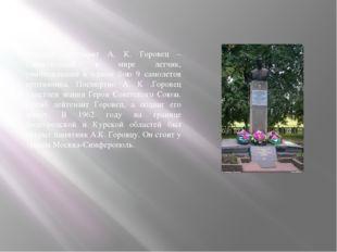 Гвардии лейтенант А. К. Горовец – единственный в мире летчик, уничтоживший в
