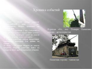 Хроника событий 5 июля – 04:30 немцы наносят артиллерийский удар — это ознаме