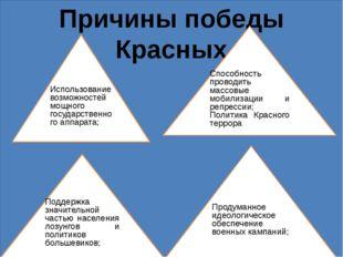 Причины Поражения движения Учебник с.110-111 Социальная и идейная разрозненно