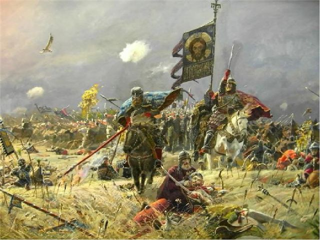 Так бесславно закончилась для татар битва на Куликовом поле. Победа в Кулико...