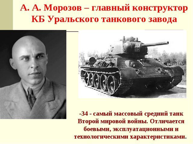 T-34 - самый массовый средний танк Второй мировой войны. Отличается боевыми,...