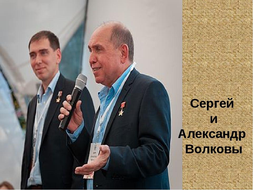 Сергей и Александр Волковы