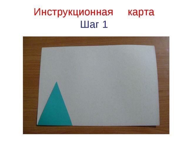 Инструкционная карта Шаг 1