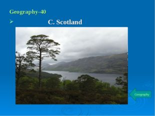 Geography-40 C. Scotland Geography