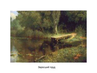 Заросший пруд Заросший пруд.