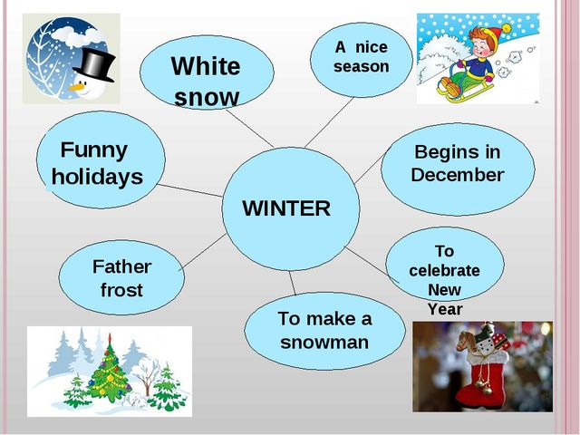 WINTER Funny holidays