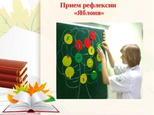 Прием рефлексии «Яблоня»
