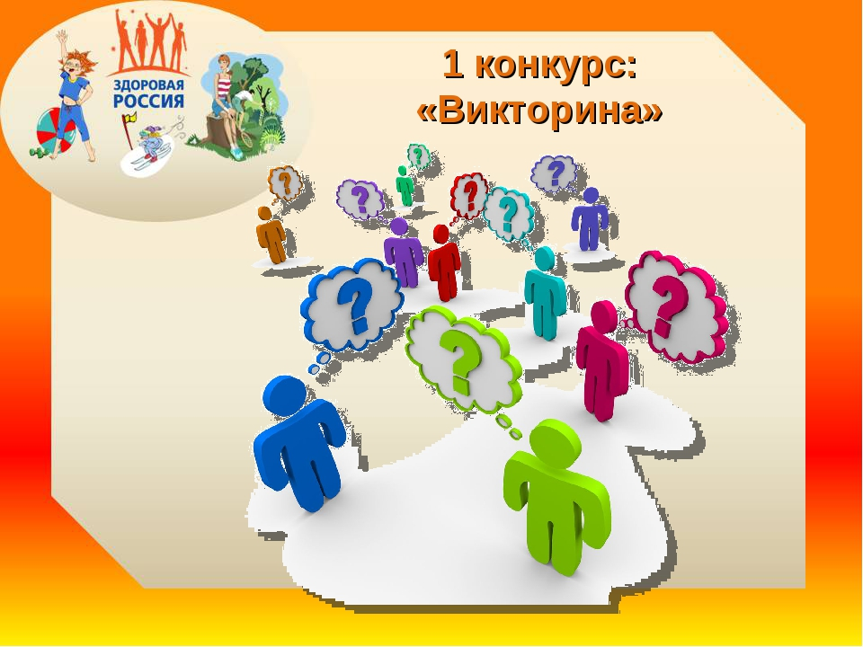 1 конкурс: «Викторина»