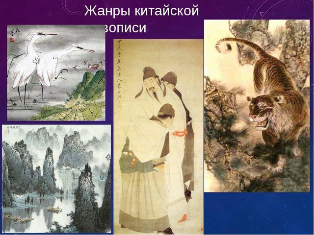 Жанры китайской живописи