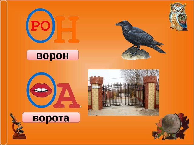 ворон ворота