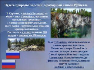 Чудеса природы Карелии: мраморный каньон Рускеала. В Карелии, в посёлке Руске