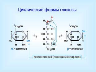 Циклические формы глюкозы