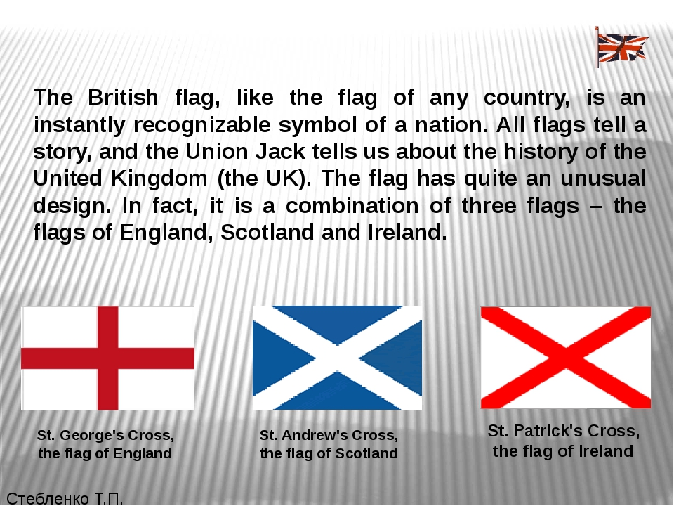 The British flag, like the flag of any country, is an instantly recognizable...
