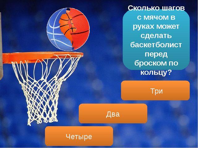 Сколько шагов с мячом в руках может сделать баскетболист перед броском по кол...
