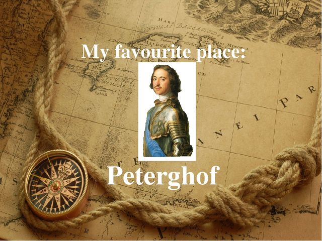 My favourite place: Peterghof