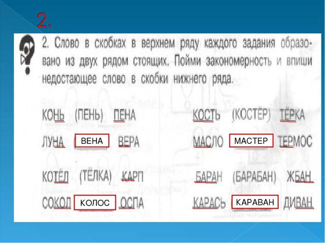 ВЕНА КОЛОС МАСТЕР КАРАВАН