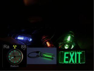 Радиолюминесценция — люминесценция вещества, вызванная воздействием ионизирую