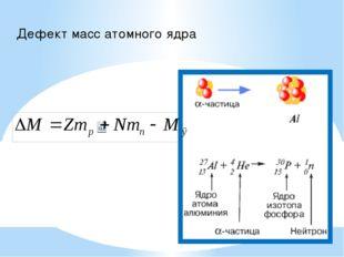 Примеры ядерных реакций