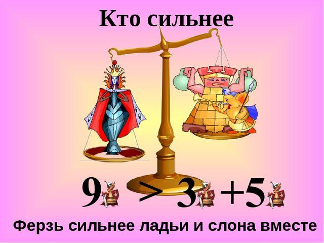 Кто сильнее Ферзь сильнее ладьи и слона вместе