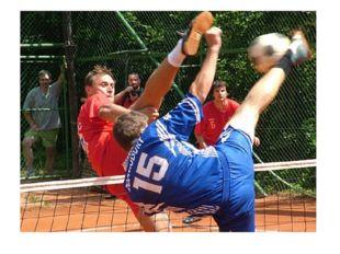 Подача выполняется ударом по мячу от задней линии. Виды подачи: с рук, после