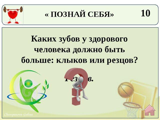 Глаз. 30 Какой человеческий орган не меняет размеры от рождения до смерти? «...