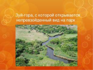  Зуй-гора, с которой открывается непревзойденный вид на парк