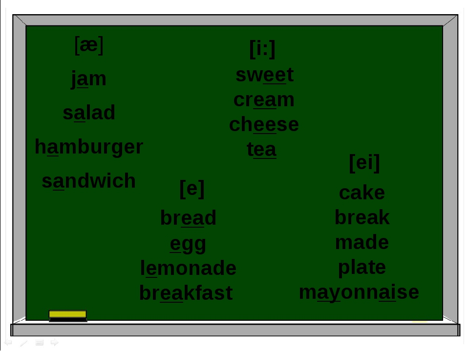 [æ] jam salad hamburger sandwich bread egg lemonade breakfast [e] sweet cream...