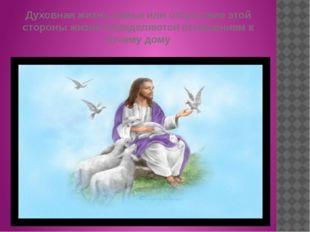 Духовная жизнь семьи или отсутствие этой стороны жизни определяются отношение
