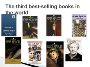 The third best-selling books in the world