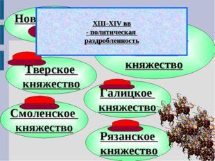Новгородская земля Московское великое княжество Смоленское княжество Тверское