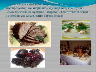 У чувашей известны такие национальные блюда из мяса и мясопродуктов, как шăрт