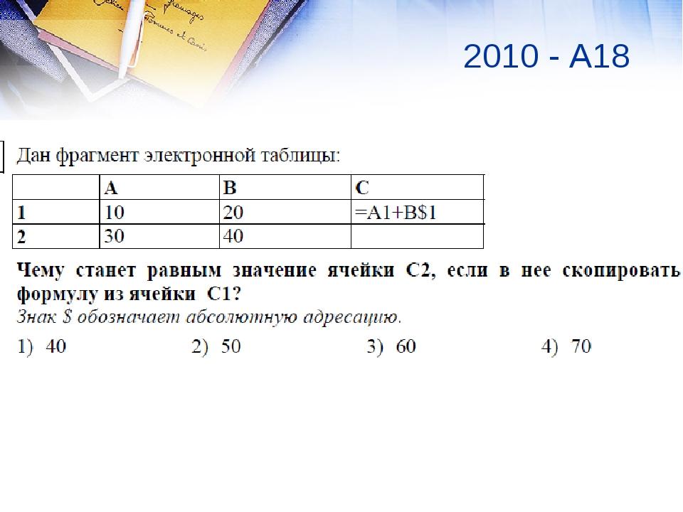 2008 А18 2010 - А18