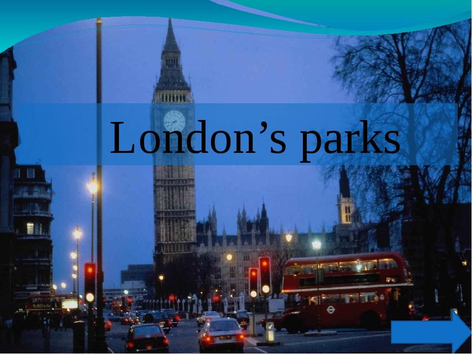 London's parks