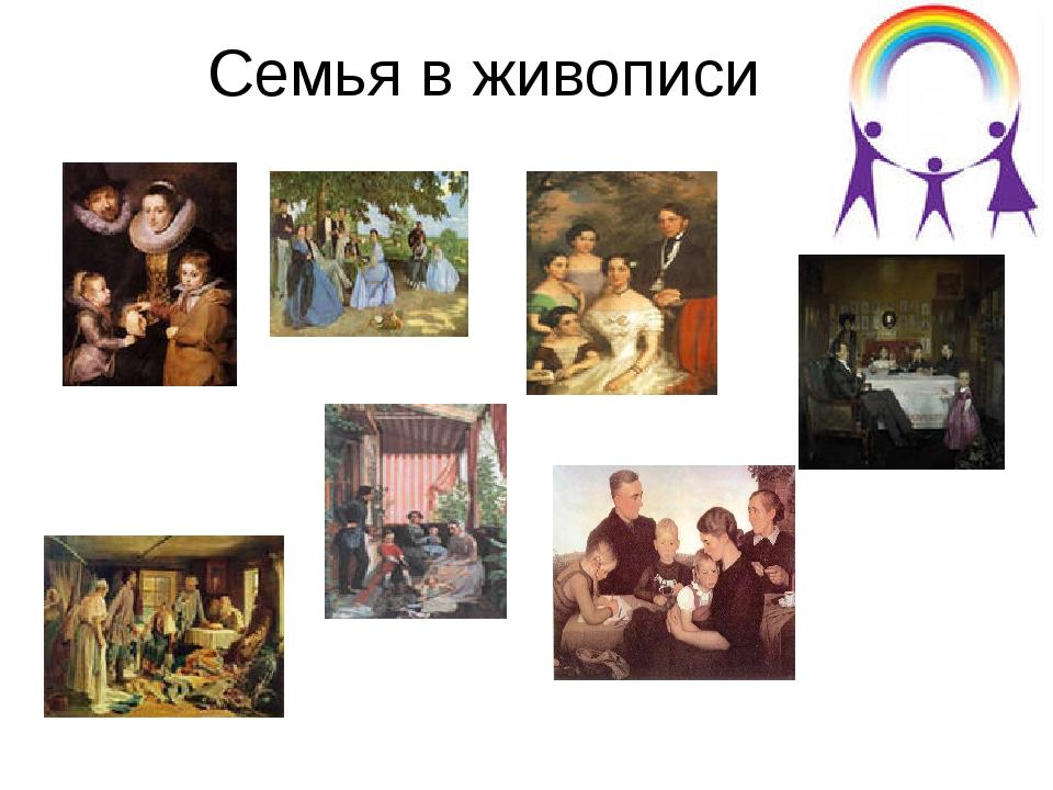 Семья в живописи