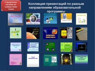 Коллекция презентаций по разным направлениям образовательной программы